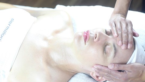 Facial with Massage Techniques