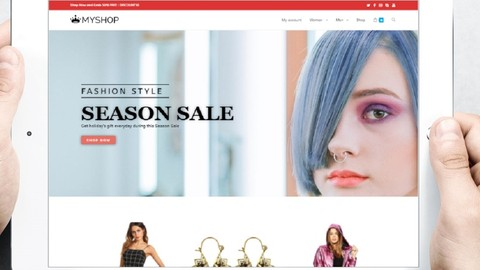 Create eCommerce Website - Online Shop with Wordpress 2020