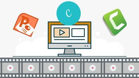 Crea Fácil tu Video con Powerpoint, Canva y Camtasia