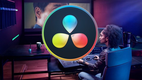Image for course Color Grading and Video Editing with Davinci Resolve 17