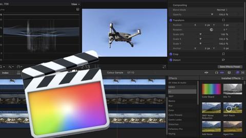 Final Cut Pro X  -  Sprawna i Szybka Edycja Wideo - Polski