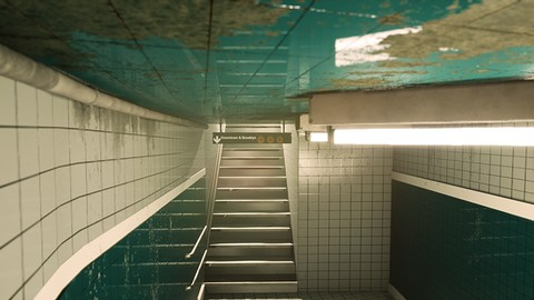 Create a Subway scene in Unreal Engine 4