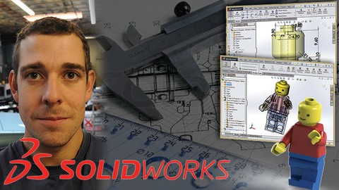 Master Solidworks 2019 - 3D CAD using real-world examples*
