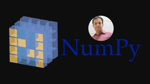 Image for course The Complete NumPy course For Data Science : Hands-on NumPy
