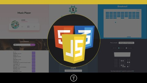 Image for course 20 Web Projects With Vanilla JavaScript
