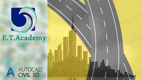 الدبلوم الأقوي لتصميم وتنفيذ الطرق وبرنامج Civil 3D