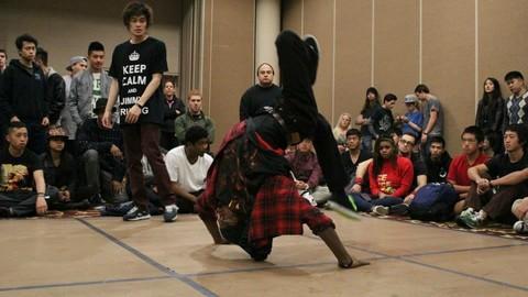 Breakdance: Freezes, Turtles, Backspins