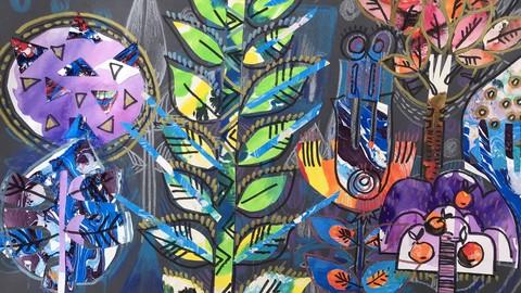 Netcurso-kreative-collage-zauber-welt