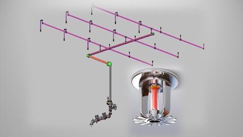 Complete fire sprinkler system & design as per NFPA 13