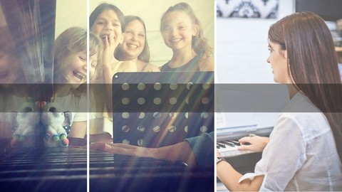 Piano Readiness for the young beginner. (4-8 years old)