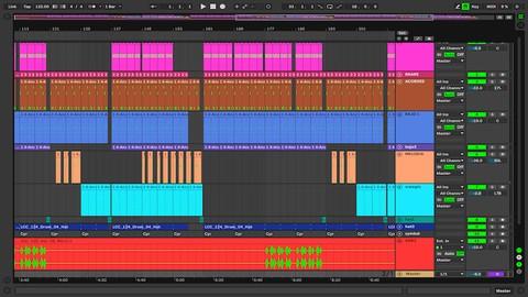 Mezcla y Masterización en Ableton Live 10