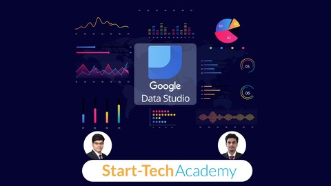 Image for course Google Data Studio A-Z for Data Visualization and Dashboards
