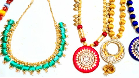 Advanced Silk Thread Jewelry