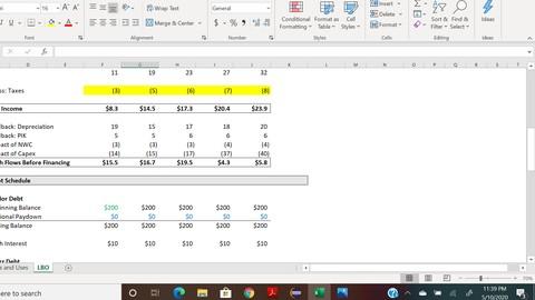 Conceptual Fundamentals - LBO Modeling