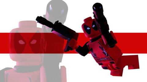 Blender: Modliser et animer lego DeadPool