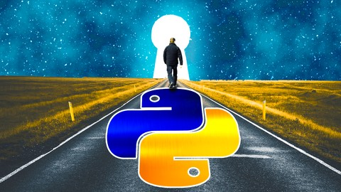 Image for course 2021 Python for Beginners:  A to Z Concise Hands-on Course