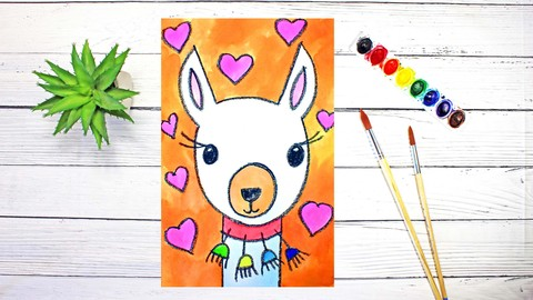 Netcurso-art-for-young-kids-drawing-watercolor-painting-for-fun