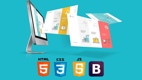 Image for course Build Responsive & Real World Websites in HTML5 CSS 3 & JS
