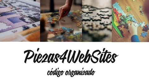 Piezas4Websites Contenedor - Piezas html - css -php#