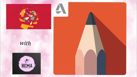 Netcurso-autodesk-sketchbook-for-everyone-with-hems