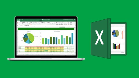 Image for course 2021 Microsoft Excel from A-Z: Beginner To Expert Course
