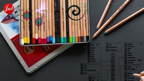 Desain Grafis dari Nol: Garis, Warna, Objek, & Tipografi