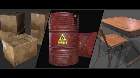 Game Asset modeling course