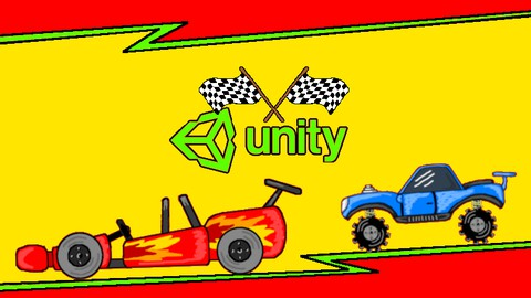 Learn to create a 2D Racing car game for FREE