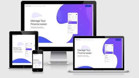 Image for course Build Responsive Website Using HTML5, CSS3, JS And Bootstrap