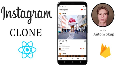 Image for course React Native bootcamp - Build an Instagram Clone w/Firebase