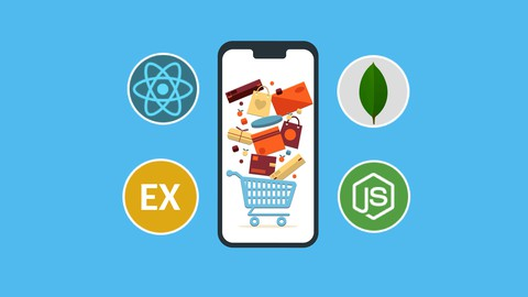 Image for course MERN Stack E-Commerce Mobile App with React Native [2021]