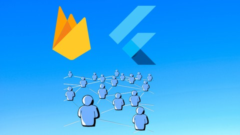 image for Building a clone  social network with flutter and FIREBASE.