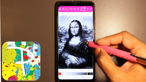 Great Painter Series - Draw the Mona Lisa with Paintology