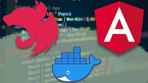 Image for course Angular and NestJS: A Practical Guide with Docker