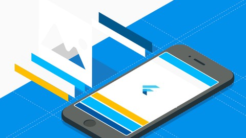 Image for course Learn Flutter and Dart to create Android and IOS apps