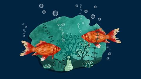 Netcurso-erstelle-ein-goldfischaquarium-mit-adobe-photoshop-2020