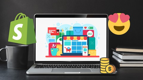 Image for course Complete Shopify Guide- From Zero to Creating your own Store