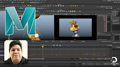 Image for course Intermediate Animation in Autodesk Maya