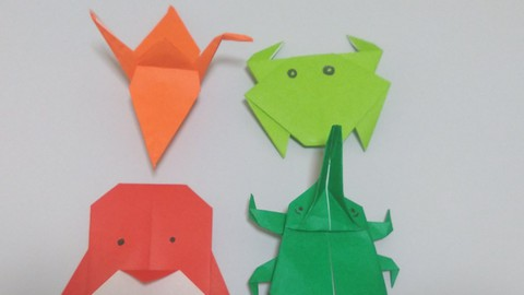 Netcurso-origami-paper-craft-basics