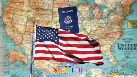 Image for course 2021 US Citizenship Tests Become Naturalized US Citizen