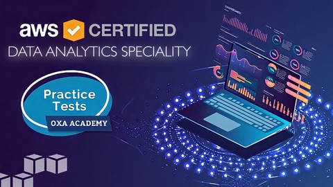Image for course AWS Certified Data Analytics - Specialty Practice Tests 2021