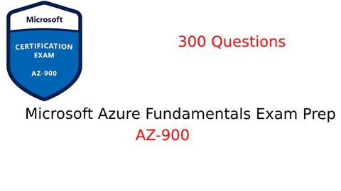 Image for course Microsoft AZ-900: Microsoft Azure Fundamentals Prep Test