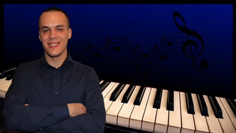 Image for course Complete Beginner Piano Course