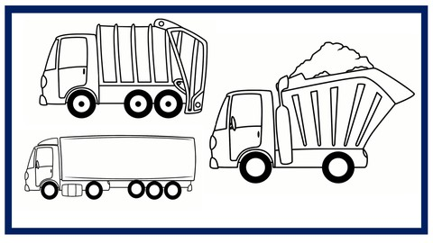 Netcurso-truck-drawings-learn-to-draw-these-trucks-from-scratch