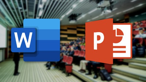 Image for course complete Ms word and Powerpoint Two in one essential course