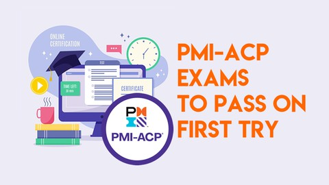 Image for course PMI-ACP Practice 6 Exams 2021- 360 Questions
