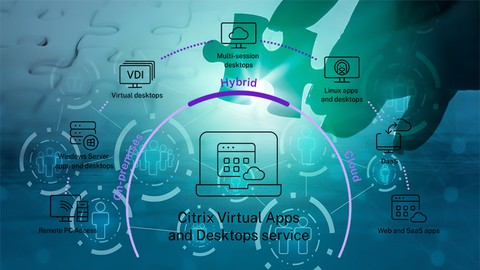 Image for course Citrix Virtual Apps and Desktops Administration Exam 2021