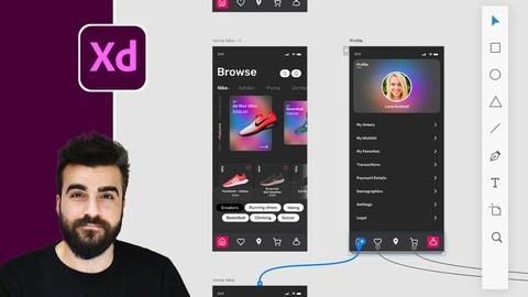 Adobe XD Mega Course - User Experience Design