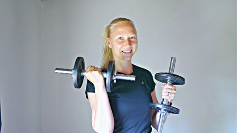 Beat gym boredom! Get fit with 15-minute Dumbbell Workouts