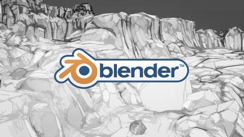 Blender 2.9X: Modelado y texturizado enfocado a videojuegos*